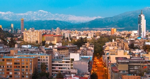 Visit beautiful Santiago on your next Chile vacations.