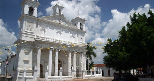 Visit the lovely Colonial Church in Suchitoto on your Central America Tour