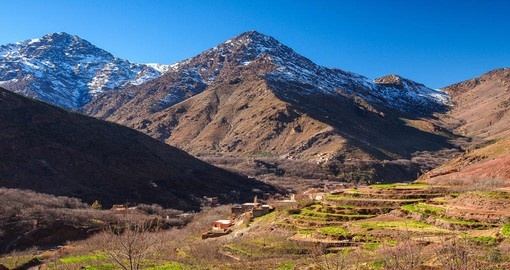 Explore Moroccan High Atlas Mountains during your next Morocco tours.