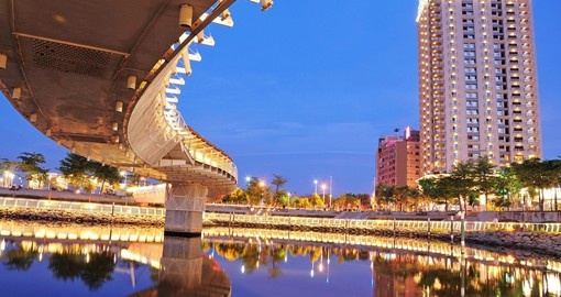Kaohsiung is the second largest city in Taiwan