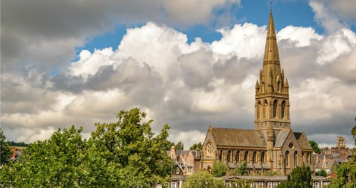 Visit St Michael's Church in Exeter and discover beautiful architecture of the building during your next London vacations.