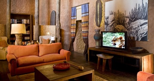 Explore all the amenities of the Tswalu Kalahari Game Reserve  during your next trip to South Africa.