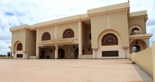 Gaddafi mosque is a photo opportunity on Kampala tours.