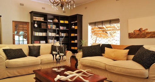 When you have a time on your next trip to South Africa visit Shiduli Private Game Lodge's library you will be surprised.