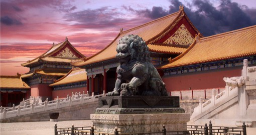 The largest palace complex in the world, Beijing's Forbidden City was the home of the imperial dynasties until 1911