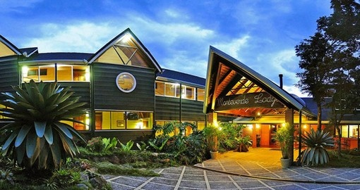 Your Costa Rica Vacation stays at the Monteverde Lodge