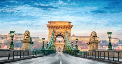 Discover Chain Bridge and explore its beautiful architecture during your next Hungary vacations.
