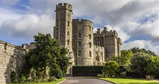 Visit Windsor Castle where royals are reside during your next England vacations.