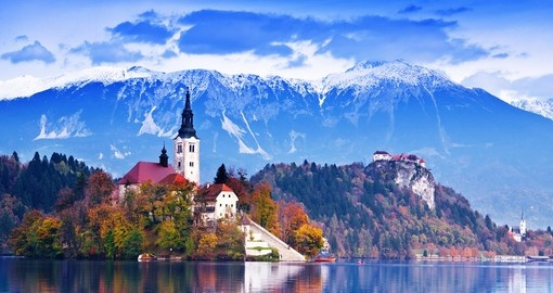 See breathtaking Lake Bled on your Slovenia vacation