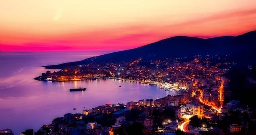 Water view of Sarande