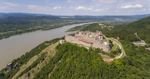 Medieval Castle of Visegrad in the Danube Bend