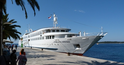 The MS La Belle de Adriatique.