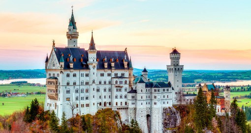 Built by King Ludwig II of Bavaria, Neuschwanstein was built to honour Richard Wagner