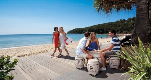 Relax and explore the Noosa Boardwalk at your own speed