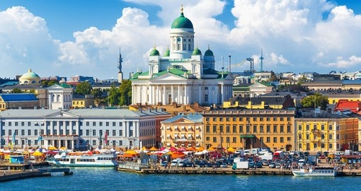 Visit Helsinki Market Square on your Finland Tour
