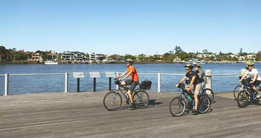 Experience Brisbane on the Essential Bicycle Tour as part of your Australia Vacation