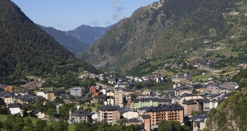 Andorra la Vella is the capital of Andorra and is typically the starting point of all Andorra vacations.