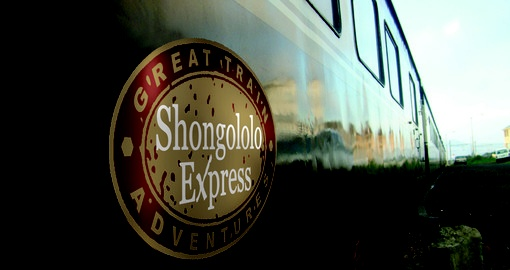Experience train on The Shongololo Express during your next South Africa vacations.