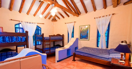 Relax in your Suite Room on your Ecuador tour