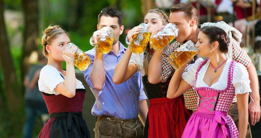 "Oktoberfest is the world's largest ""Volksfest"". Held annually in Munich"