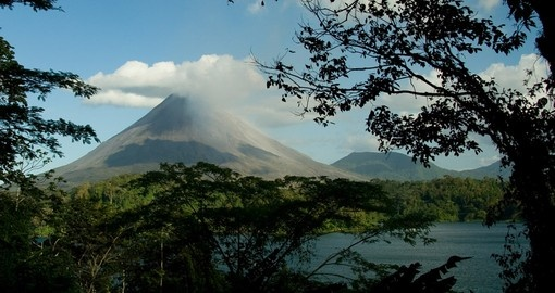 View the Arenal volcano on your Costa Rica Tour
