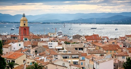 Discover Saint-Tropez located in southeastern France.