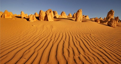 See the Pinnacles Desert in Outback Australia
