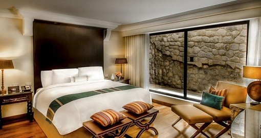 Relax in the Inca Room on your Peru Vacation