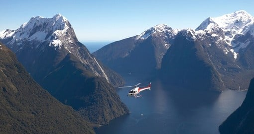 Explore magical Milford sound on your next trip to New Zealand.