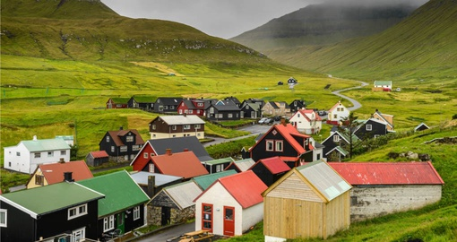 Explore this beautiful village on your next trip to Faroe Islands.