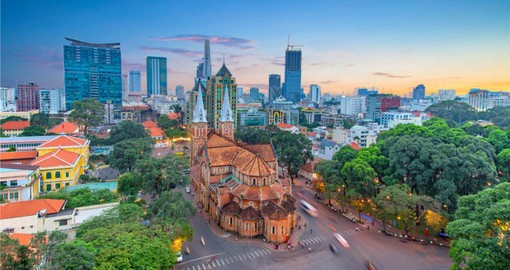 Ho Chi Minh City, Vietnam's largest city is still widely know as Saigon
