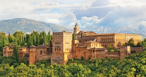 Visit the Alhambra on your Spain vacation
