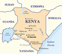 Kenya Destination Map