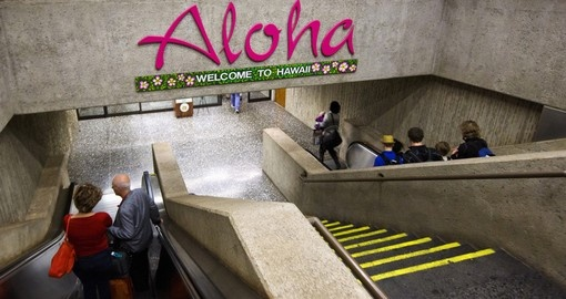 Welcome to Honolulu International Airport