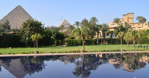 Relax by the pool on your trip to Egypt