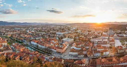 Ljubljana, the capital of Slovenia will be your starting point for your Slovenia vacation.