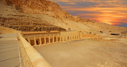 The Valley of the Kings has 63 superb royal tombs