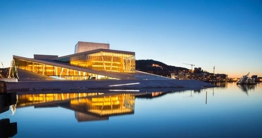 You must go to a show in Oslo opera house and have an unforgettable memories.