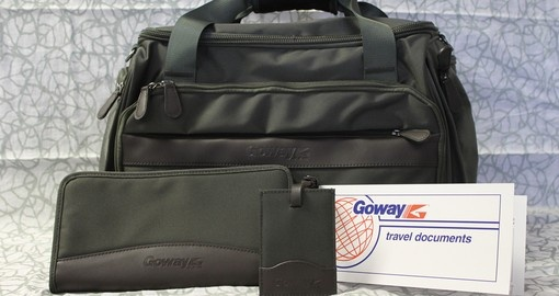 Exclusive Goway Cabin Luggage and Other Goodies Included