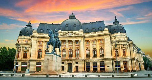 "A multitude of belle époque buildings gained Bucharest the nickname ""Little Paris"""