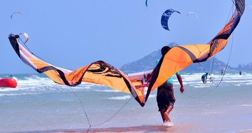 Try Kite Surfing, Hua Hin