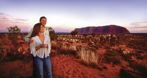 Explore Ayers Rock on your next Australian Vacation.