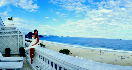 Stunning views of Copacabana Beach on your next Brazil vacations.