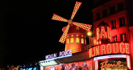 Paris nightlife is renown for it's lightness and joy of life