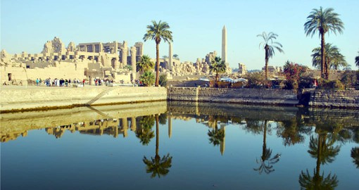 Your Egypt tour continues to Luxor and the Temple of Karnak
