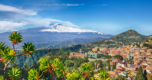 Mount Etna is the highest volcano in Europe, and one of most active of the world