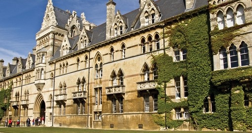 Visit the dining hall from the original Harry Potter film, Christ Church Hall, Oxford