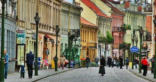 Visit The Old Town of Vilnius on your Lithuania Vacation