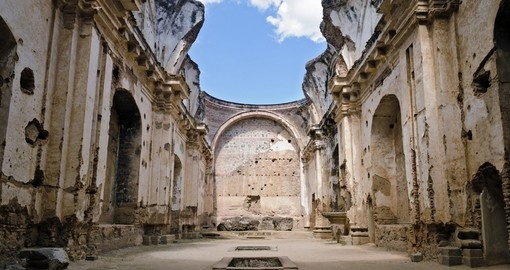 Ruins of the Convent of Santa Clara in Antigua