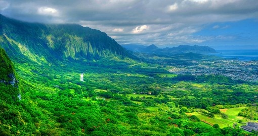 The many scenic view make it a must inclusion on your Oahu tour
